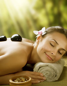 foto of spa massage  - Spa outdoor - JPG