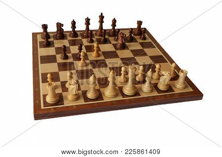 Photo Of Chess Opening On