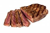 stock photo of porterhouse steak  - Grilled beef steak - JPG