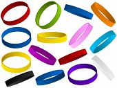 Set Of Colorful Wristband