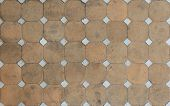 A Pattern Of Stone Path Of Walkway poster