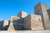 the Norman-Swabian Castle in the old town of Bari