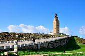 stock photo of hercules  - Torre de Hercules - JPG