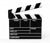 Film Production Clapper board