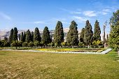 stock photo of shiraz  - Jahan Nama garden in Shiraz in Iran - JPG