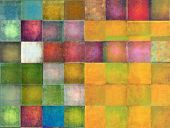 picture of squares  - Earthy geometric background image and design element - JPG