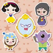 picture of dwarf  - cute cartoon story people icons - JPG