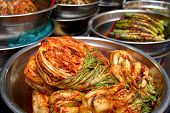 stock photo of kimchi  - Traditional Korean food - JPG