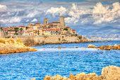 Постер, плакат: View Of Antibes France