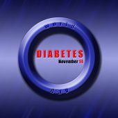 Graphic Design World Diabetes Day Related