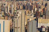 image of costa blanca  - Full frame take of the skyscrapers of Benidorm Costa Blanca Spain - JPG