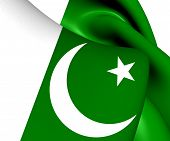 pic of pakistani flag  - 3D Flag of the Pakistan - JPG