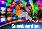 Постер, плакат: Extreme Snowboarding