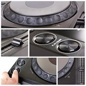 Dj Cd Player Collage