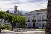 pic of faro  - The center city of Faro Algarve Capital Portugal - JPG
