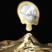 Постер, плакат: Melting Euro