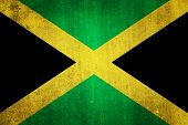 foto of reggae  - National flag of Jamaica - JPG