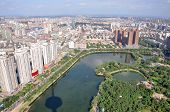 foto of northeast  - Shenyang City Skyline aerial view - JPG