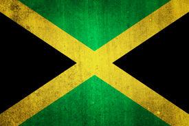 stock photo of jamaican flag  - National flag of Jamaica - JPG