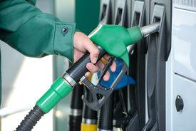 foto of petrol  - Close - JPG