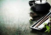 image of sakura  - Chinese Tea Set - JPG