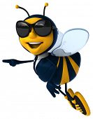 foto of bumble bee  - Fun bee - JPG