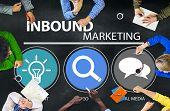 picture of  media  - Inbound Marketing Commerce Content Social Media Concept - JPG