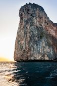 foto of phi phi  - majestic rock formation in phi phi island in the andaman sea Thailand - JPG
