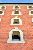 Gothic tenement house in Torun, Poland. poster