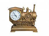 foto of locomotive  - souvenir locomotive - JPG