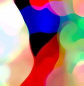 foto of composition  - Abstract objectless color composition  - JPG