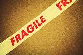 image of fragile  - Fragile tape - JPG