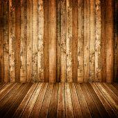 Постер, плакат: Интерьер деревянные дома
