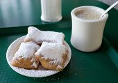 Beignets And Cafe' Au Lait