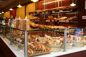 A photo of a bakery