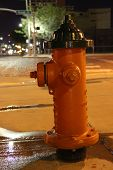 Fire Hydrant Night