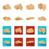 Case, Shell, Framework, And Other  Icon In Cartoon, Flat Style.box, Container, Package Icons In Set  poster