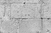 Background From Gray Bricks. Gray Background. Old Gray Stones. Gray Background For Design, Design An poster