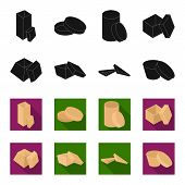Case, Shell, Framework, And Other  Icon In Black, Flet Style.box, Container, Package Icons In Set Co poster