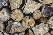 Wooden Logs, Beams, Firewood, Frame. Wooden Log Wooden Background. Fuel. Closeup poster