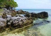 foto of promontory  - The beautiful Gelam beach located on the promontory of the island of Java Karimun - JPG