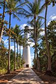 Cape Florida Lighthouse At Bill Baggs Cape Florida State Park poster