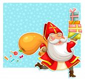 sinterklaas with presents