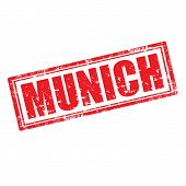 Munich-stamp