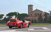 Classic Car Rally In Ravenna