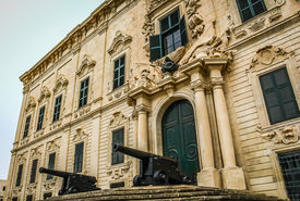 picture of prime-minister  - This is the Prime Ministers office in Valletta - JPG