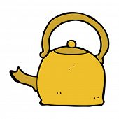 cartoon old kettle