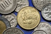 picture of lira  - Coins of Italy - JPG