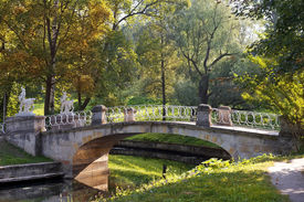 image of centaur  - picturesque bridge with centaurs - JPG