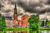 pic of city hall  - View of Kiel city hall  - JPG